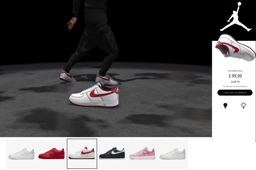 nike shoe template