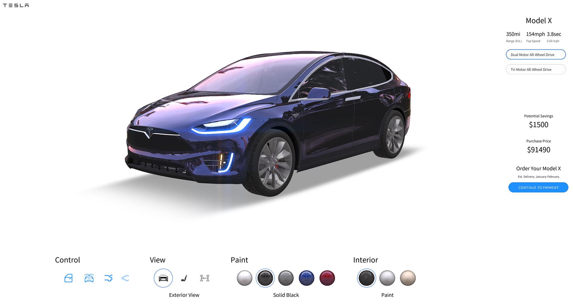 car configurator template