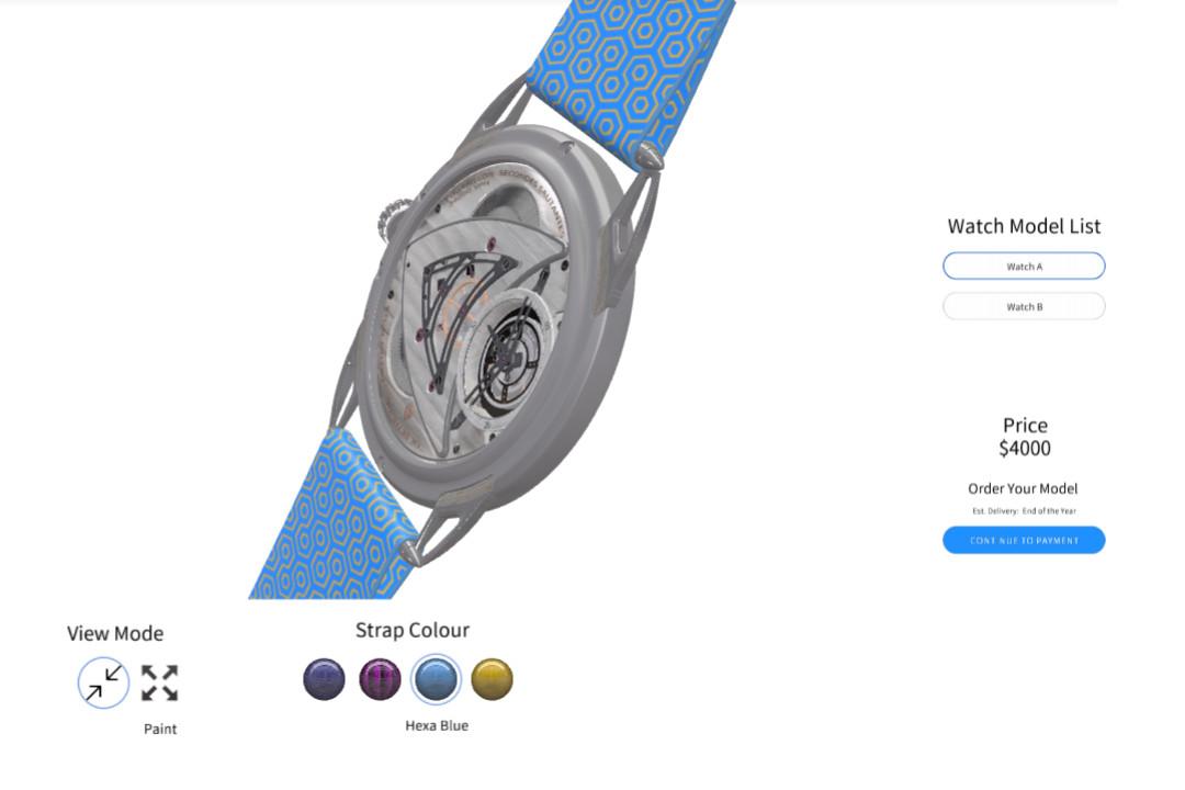 watch configurator template